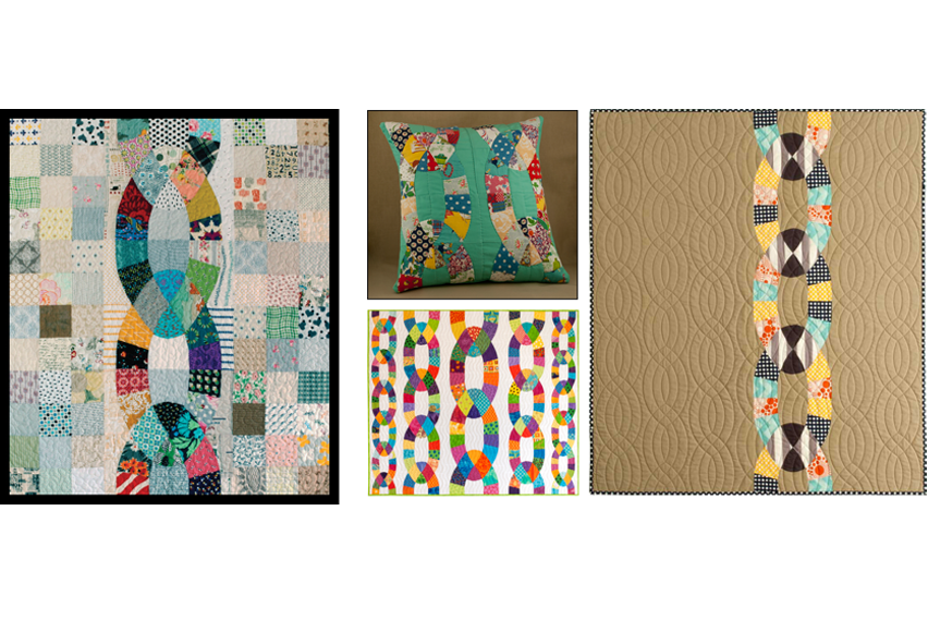 Chain Reaction Quilt Samples